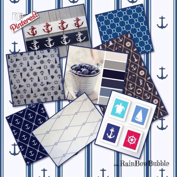 Ispirazioni Navy Mood da Pinterest